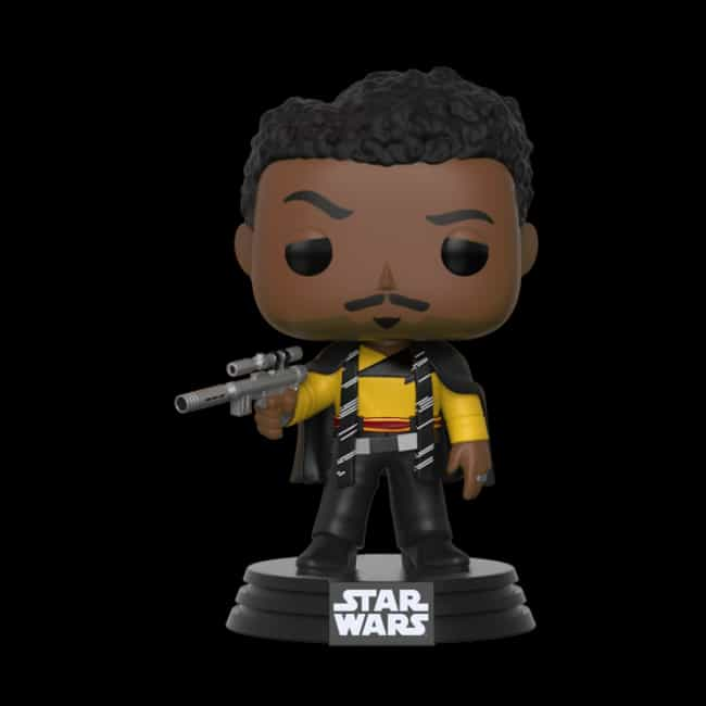 Pop Star Wars: Solo - Lando Ca... is listed (or ranked) 1 on the list The Best Star Wars Funko Pop! Collectibles