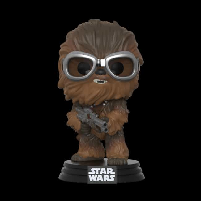 Pop Star Wars: Solo - Chewbacc... is listed (or ranked) 3 on the list The Best Star Wars Funko Pop! Collectibles