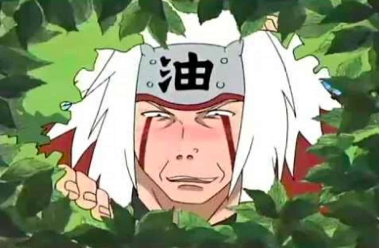 He Spies On And Sexually Haras is listed (or ranked) 3 on the list 10 Reasons Why Jiraiya Is Actually A Bad Person