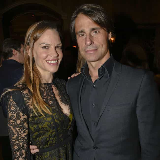 Laurent Fleury is listed (or ranked) 3 on the list Hilary Swank Loves and Hookups