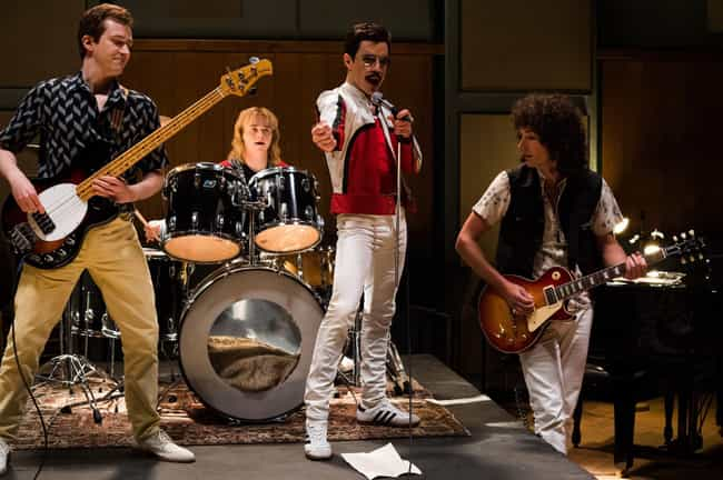 Queen Rehearsal is listed (or ranked) 2 on the list These New 'Bohemian Rhapsody' Images Have Blown Our Minds