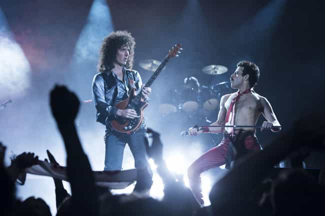 Freddie Mercury And Brian May is listed (or ranked) 1 on the list These New 'Bohemian Rhapsody' Images Have Blown Our Minds