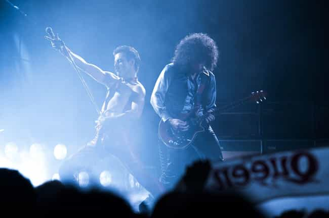 Queen On Stage is listed (or ranked) 3 on the list These New 'Bohemian Rhapsody' Images Have Blown Our Minds