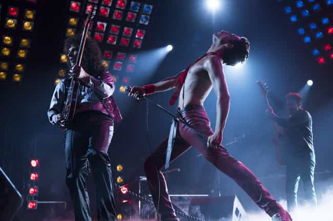 Freddie Mercury is listed (or ranked) 4 on the list These New 'Bohemian Rhapsody' Images Have Blown Our Minds