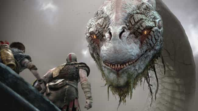 The World Serpent Recogn... is listed (or ranked) 2 on the list 'God Of War' Fan Theories