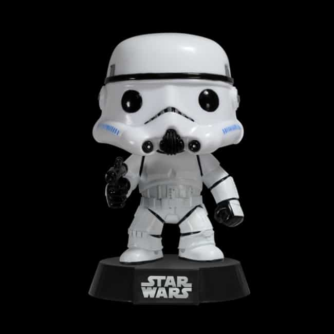 Pop Star Wars: Stormtrooper is listed (or ranked) 4 on the list The Best Star Wars Funko Pop! Collectibles