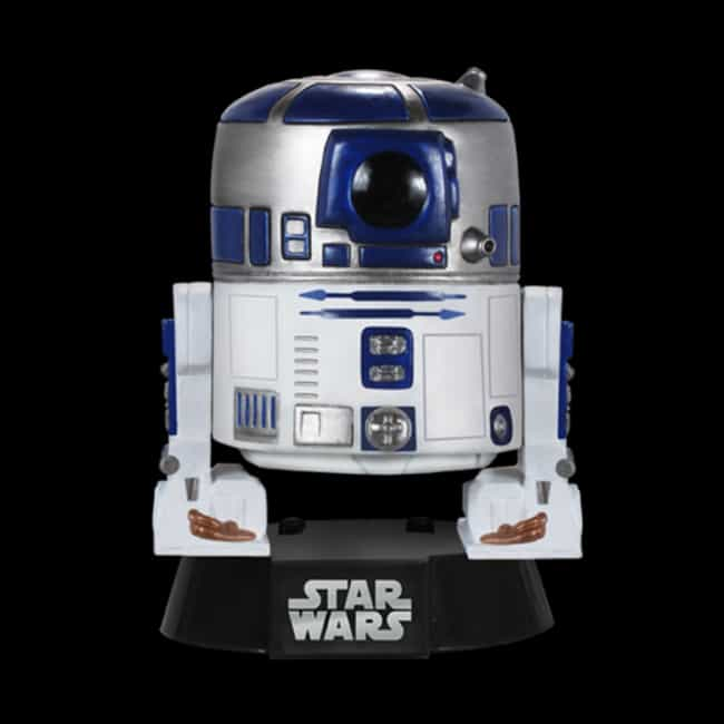Pop Star Wars: R2-D2 is listed (or ranked) 2 on the list The Best Star Wars Funko Pop! Collectibles