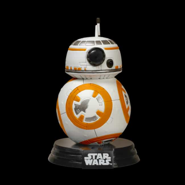 Pop Star Wars: The Force Awake... is listed (or ranked) 4 on the list The Best Star Wars Funko Pop! Collectibles