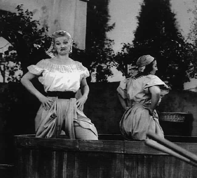 The Grape Stomping Scene... is listed (or ranked) 2 on the list The Surprisingly Dark Behind-the-Scenes Secrets of 'I Love Lucy'