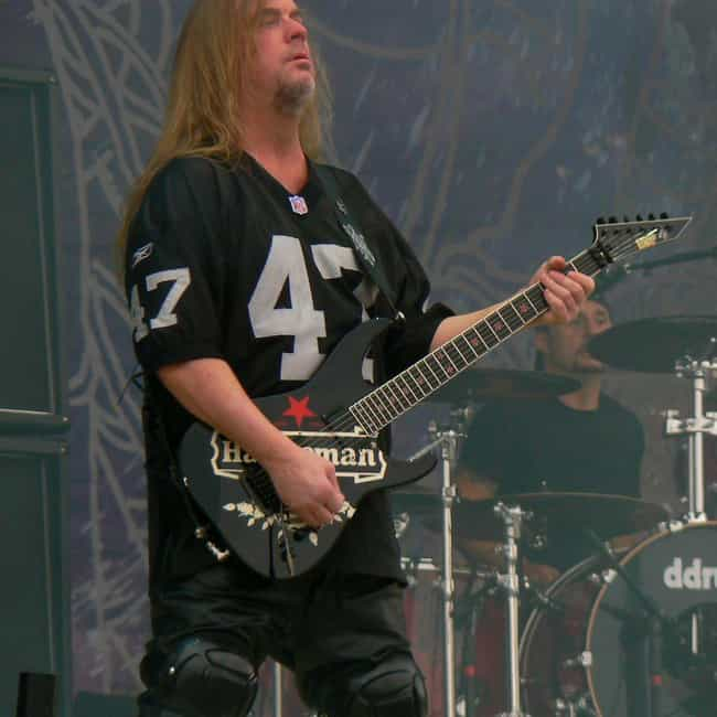 Guitarist Jeff Hanneman Introd... is listed (or ranked) 4 on the list Fascinating Facts You Didn't Know About Slayer's 'Reign In Blood'