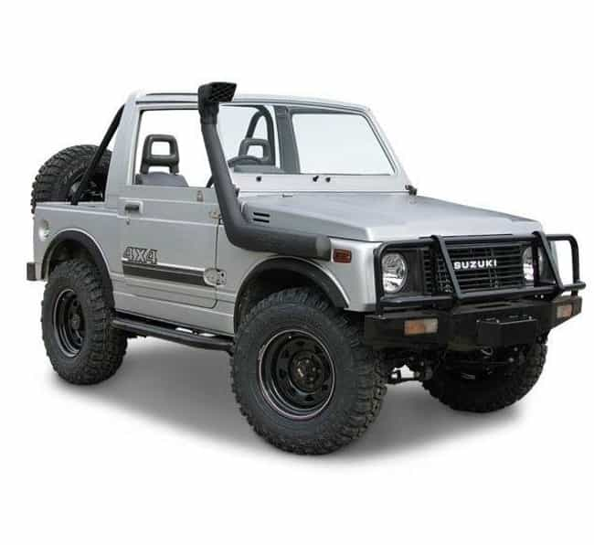 Suzuki Samurai is listed (or ranked) 4 on the list List of Popular Suzuki SUV 4WDs