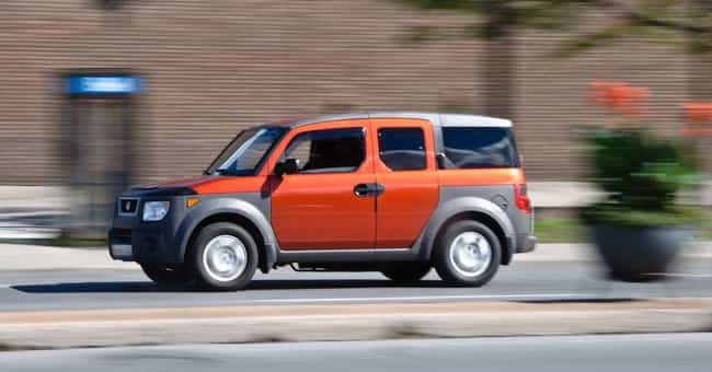 Honda Element is listed (or ranked) 1 on the list List of Popular Honda SUV 4WDs