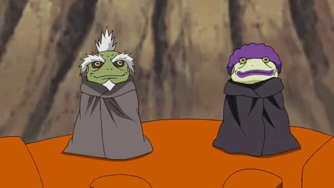 The Two Great Sage Toads is listed (or ranked) 4 on the list The 14 Best Genjutsu Users In Naruto