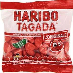 Les Fraises Tagada is listed (or ranked) 1 on the list The Best French Candy