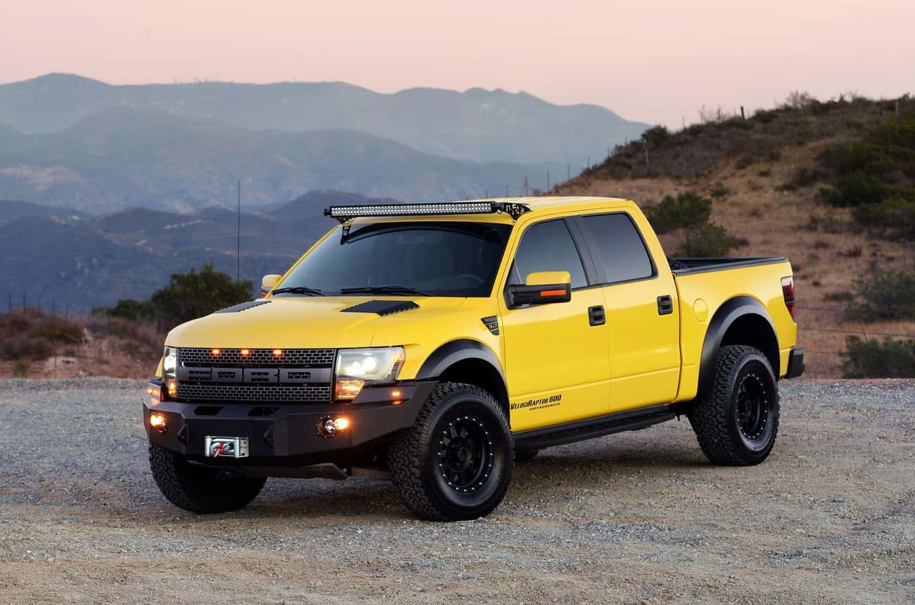 Ford F-150 SVT Raptor Hennesse is listed (or ranked) 2 on the list List of Popular Ford Trucks