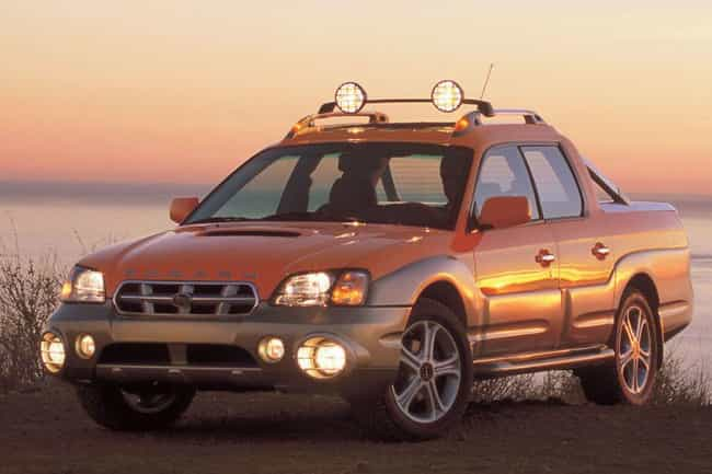 Subaru Baja Turbo Is Listed Or Ranked 2 On The List Of Por