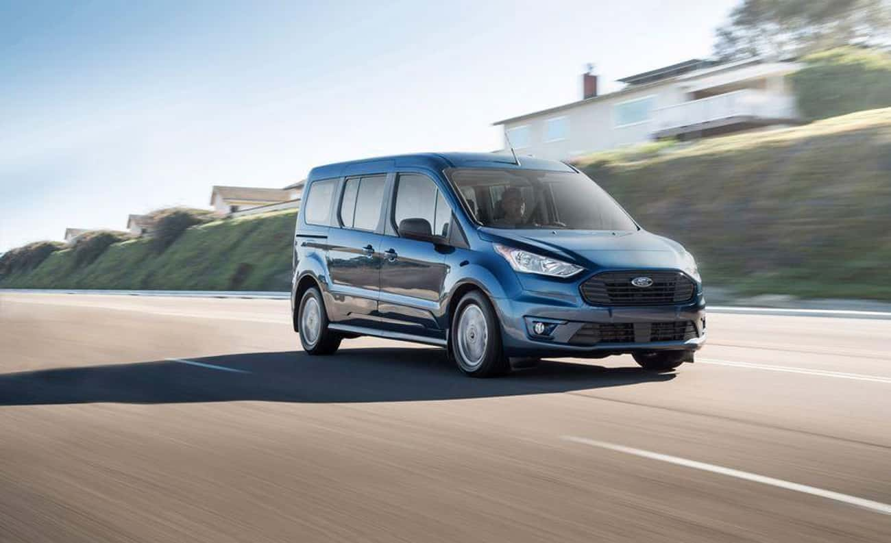 Ford Transit Connect Wagon is listed (or ranked) 1 on the list List of Popular Ford Vans
