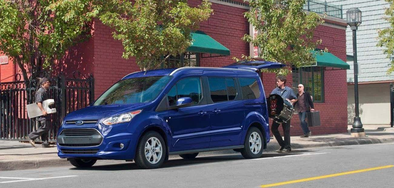 Ford Transit Connect Titanium  is listed (or ranked) 2 on the list List of Popular Ford Vans