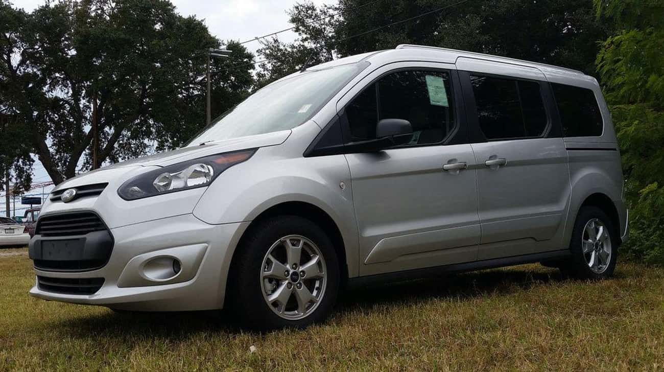 Ford Transit Connect XLT is listed (or ranked) 4 on the list List of Popular Ford Vans