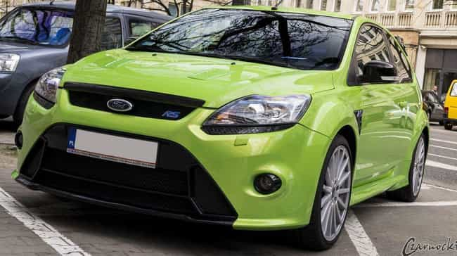 Ford Focus RS is listed (or ranked) 3 on the list List of Popular Ford Hatchbacks