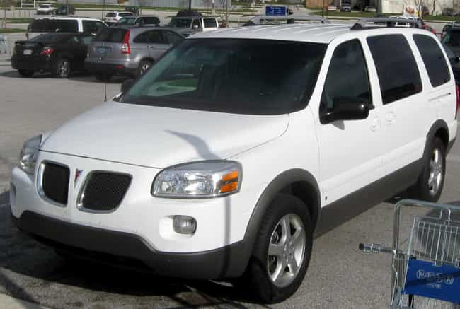 Pontiac Montana SVX is listed (or ranked) 2 on the list List of Popular Pontiac Minivans