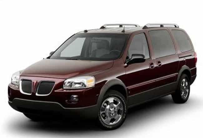 Pontiac Montana SV6 is listed (or ranked) 4 on the list List of Popular Pontiac Minivans