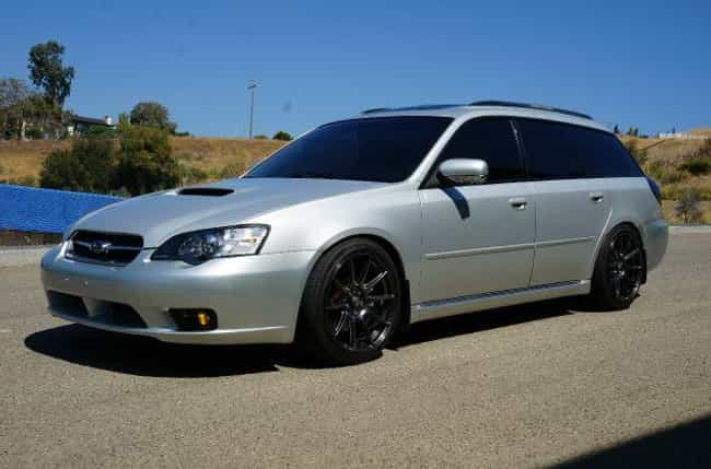 Subaru Legacy 2.5GT Limi... is listed (or ranked) 1 on the list List of Popular Subaru Station Wagons
