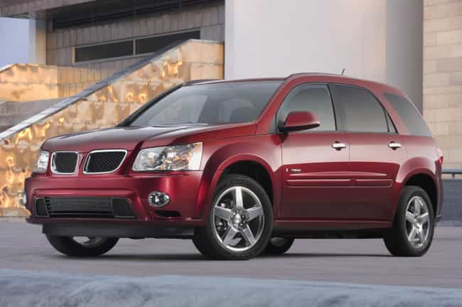 Pontiac Torrent GXP is listed (or ranked) 3 on the list List of Popular Pontiac SUV FWDs