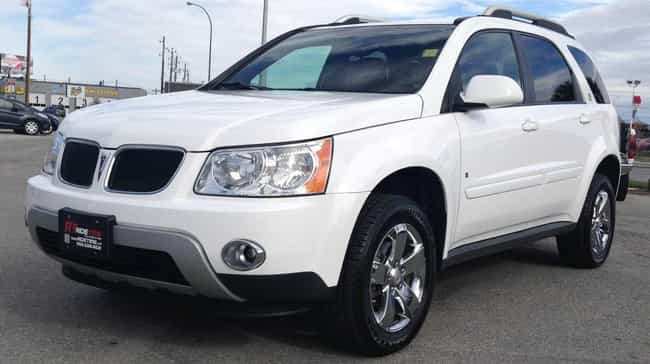 Pontiac Torrent Podium Edition is listed (or ranked) 4 on the list List of Popular Pontiac SUV FWDs