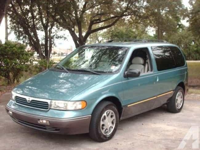 Mercury Villager Nautica is listed (or ranked) 4 on the list List of Popular Mercury Minivans