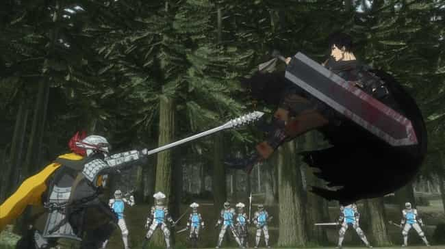 Dragon Slayer - 'Berserk' is listed (or ranked) 3 on the list The 15 Greatest Anime Swords Of All Time