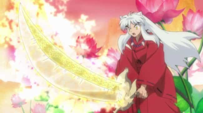 Tessaiga And Tenseiga - 'Inuya... is listed (or ranked) 2 on the list The 15 Greatest Anime Swords Of All Time
