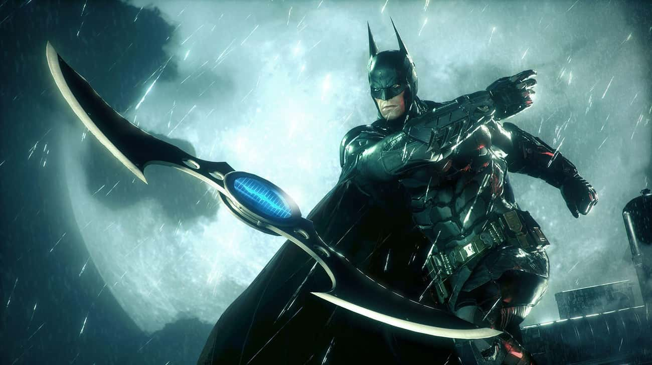 Batman Uses His Entire Arsenal is listed (or ranked) 1 on the list Why Rocksteady's Arkham Trilogy Is Superior To Christopher Nolan's Dark Knight Trilogy