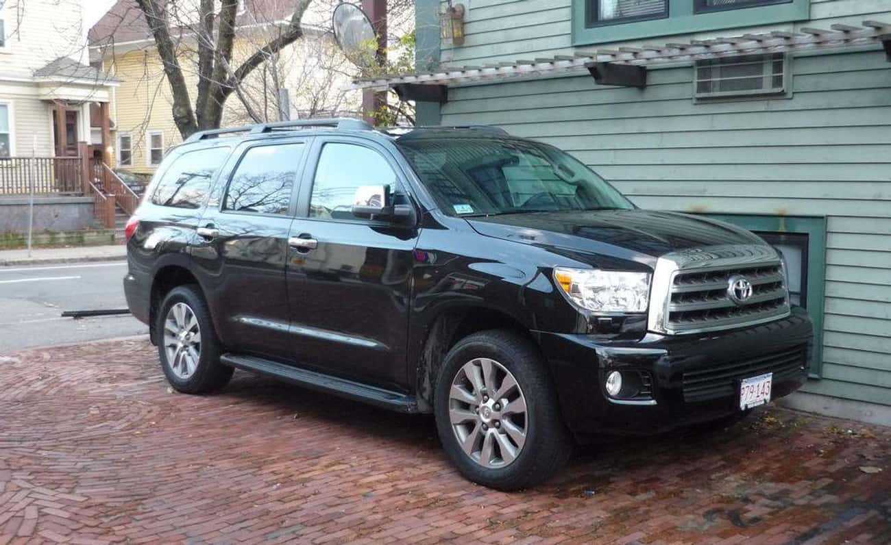 Toyota Sequoia is listed (or ranked) 3 on the list List of Popular Toyota Sport utility vehicles