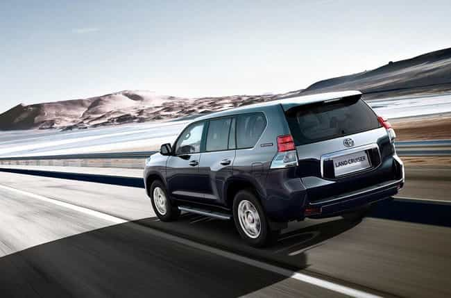 Toyota Land Cruiser is listed (or ranked) 4 on the list List of Popular Toyota Sport utility vehicles