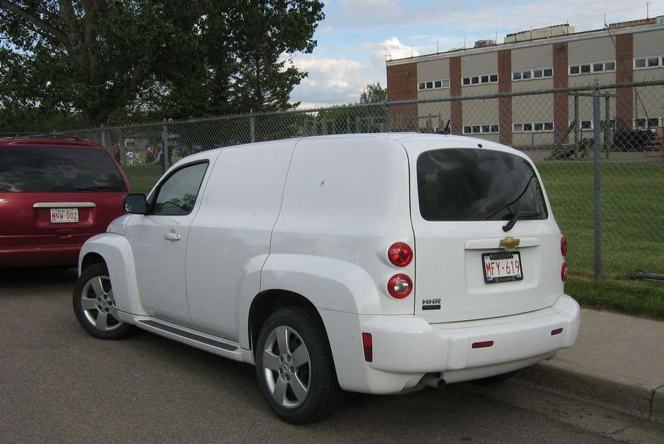 Chevrolet HHR Panel LS is listed (or ranked) 1 on the list List of Popular Chevrolet Vans
