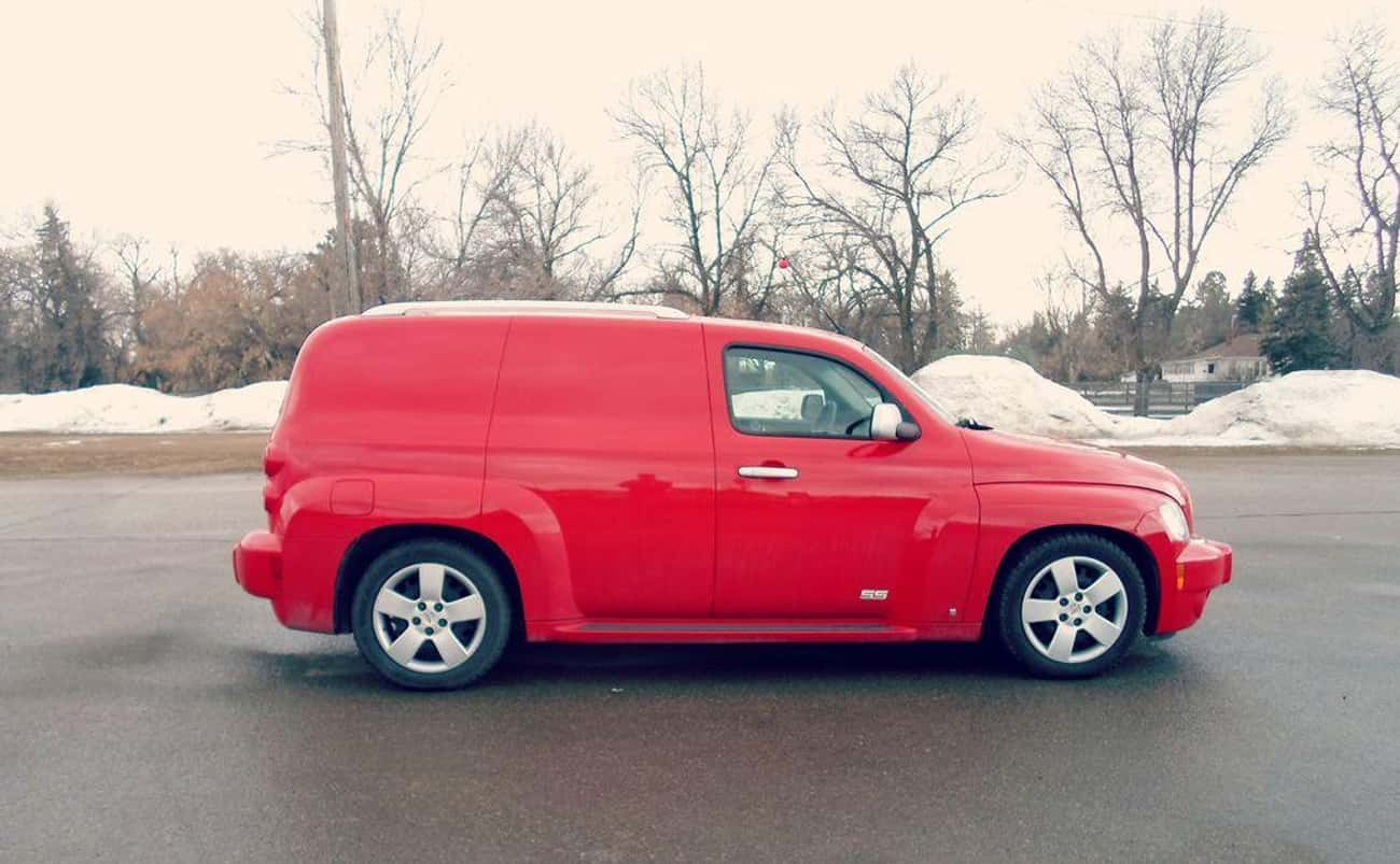 Chevrolet HHR Panel SS is listed (or ranked) 2 on the list List of Popular Chevrolet Vans