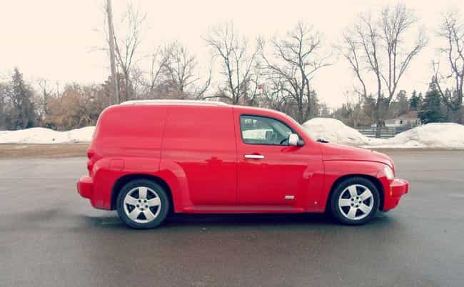 Chevrolet HHR Panel SS ... is listed (or ranked) 2 on the list List of Popular Chevrolet Vans