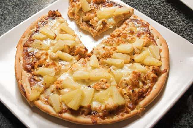 Pineapple Brings Sweetness To ... is listed (or ranked) 4 on the list Here's Definitive Proof Pineapple Is An Acceptable Pizza Topping