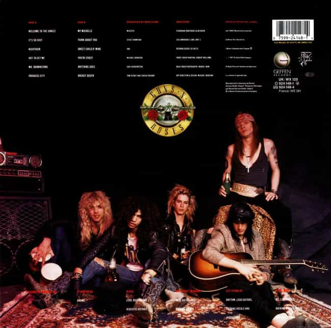 The Band Lived In A Rehearsal ... is listed (or ranked) 4 on the list Wild, Over-The-Top Stories From The Making Of Guns N' Roses' 'Appetite for Destruction'