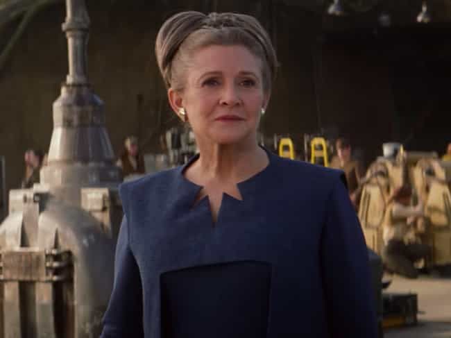 Carrie Fisher Will Return is listed (or ranked) 4 on the list Everything We Know About 'Star Wars: The Rise Of Skywalker'