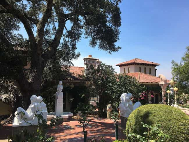 Harpo Marx Dressed The Garden ... is listed (or ranked) 4 on the list The Golden Age, History, And Secrets Of Hearst Castle, Hollywood's Party Pad