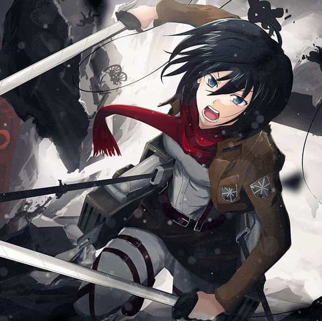 Laying Lives to Save is listed (or ranked) 4 on the list The Best Mikasa Ackerman Quotes