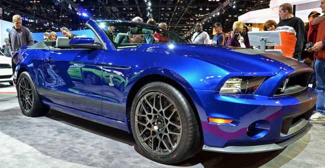 Ford Shelby GT500 Convertible is listed (or ranked) 1 on the list List of Popular Ford Convertibles