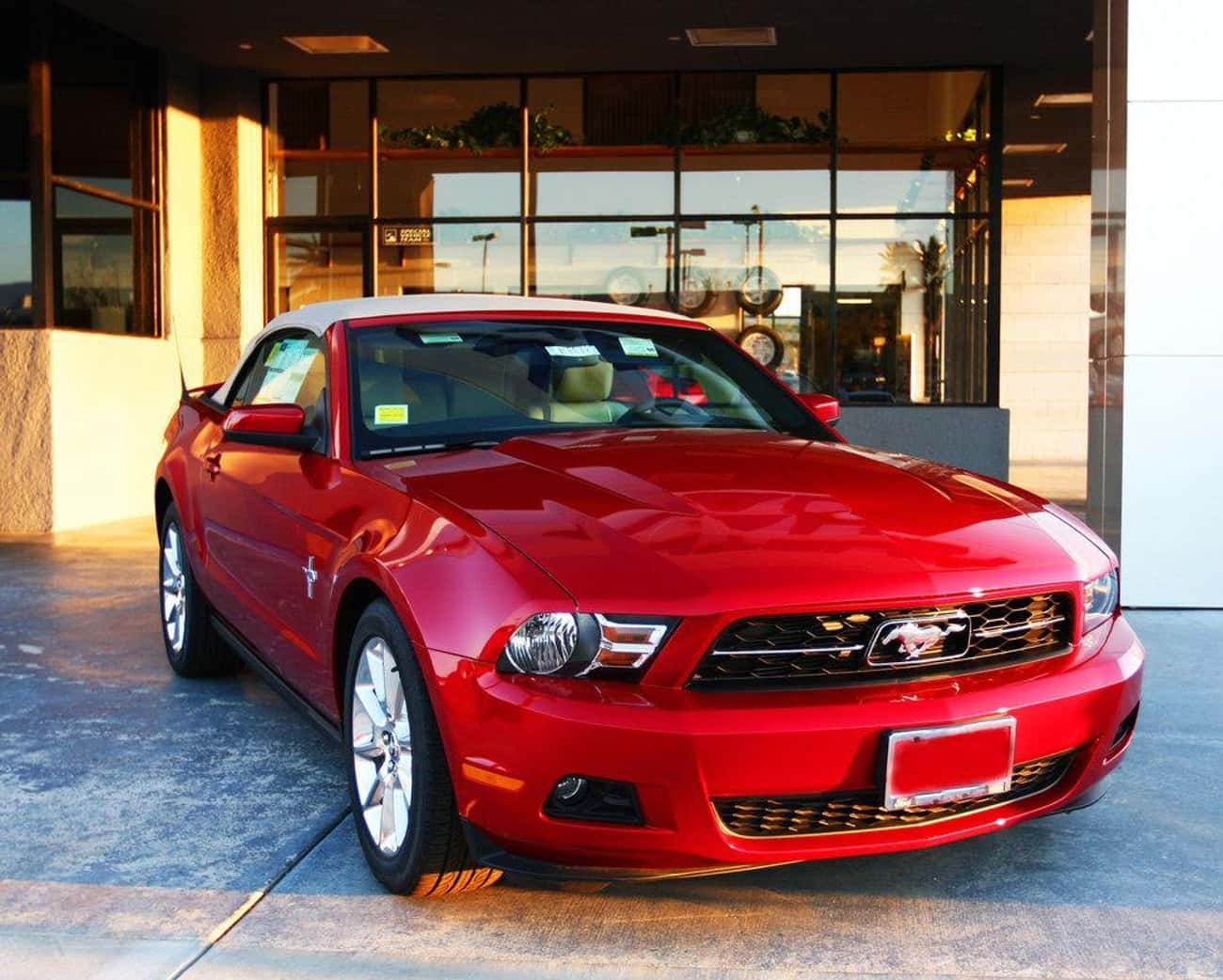 Ford Mustang Premium Convertib is listed (or ranked) 3 on the list List of Popular Ford Convertibles