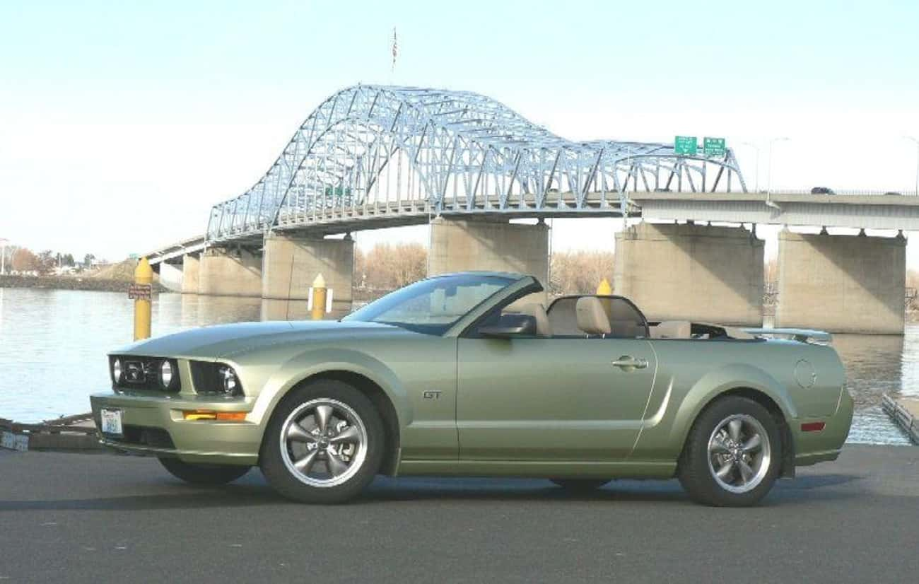 Ford Mustang GT Premium Conver is listed (or ranked) 4 on the list List of Popular Ford Convertibles