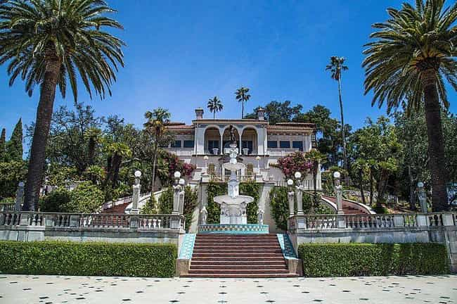 Guests Of Hearst Castle ... is listed (or ranked) 3 on the list The Golden Age, History, And Secrets Of Hearst Castle, Hollywood's Party Pad