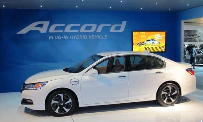 Honda Accord Plug-In Hybrid is listed (or ranked) 2 on the list List of Popular Honda Sedans