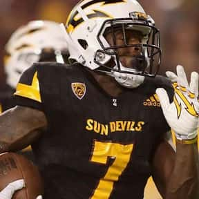 Kalen Ballage is listed (or ranked) 3 on the list The Best Arizona State Sun Devils Running Backs of All Time