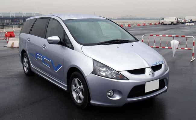 Mitsubishi FCV is listed (or ranked) 3 on the list List of Popular Mitsubishi Minivans